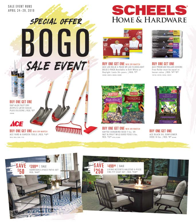 Scheels Home and Hardware We-Prints Plus Newspaper Insert printed by Forum Communications Printing