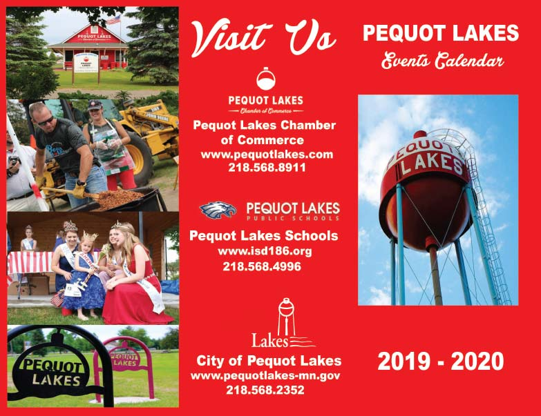 Pequot Lakes MN We-Print Plus Newspaper Insert printed by Forum Communications Printing