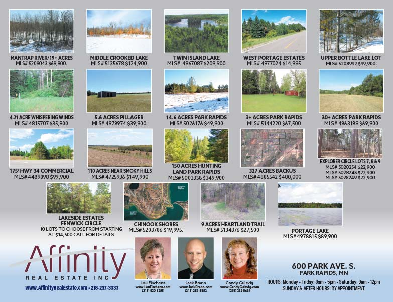 Affinity Real Estate We-Print Plus Newspaper Insert printed by Forum Communications Printing