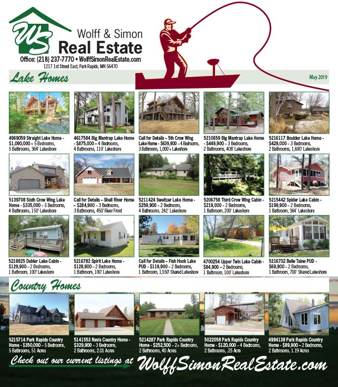 Wolff and Simon Real Estate We-Prints Plus Newspaper Insert printed by Forum Communications Printing