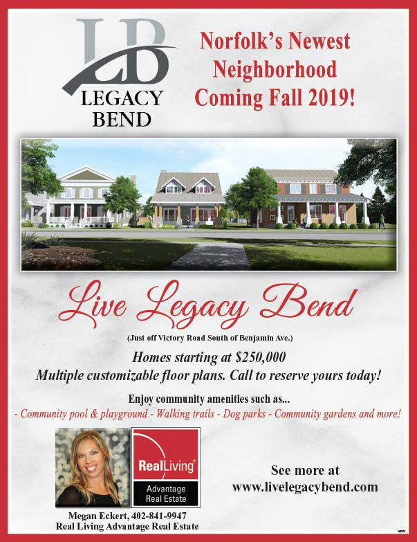 Real Living Advantage Real Estate, Legacy Bend We-Prints Plus Newspaper Insert printed by Forum Communications Printing