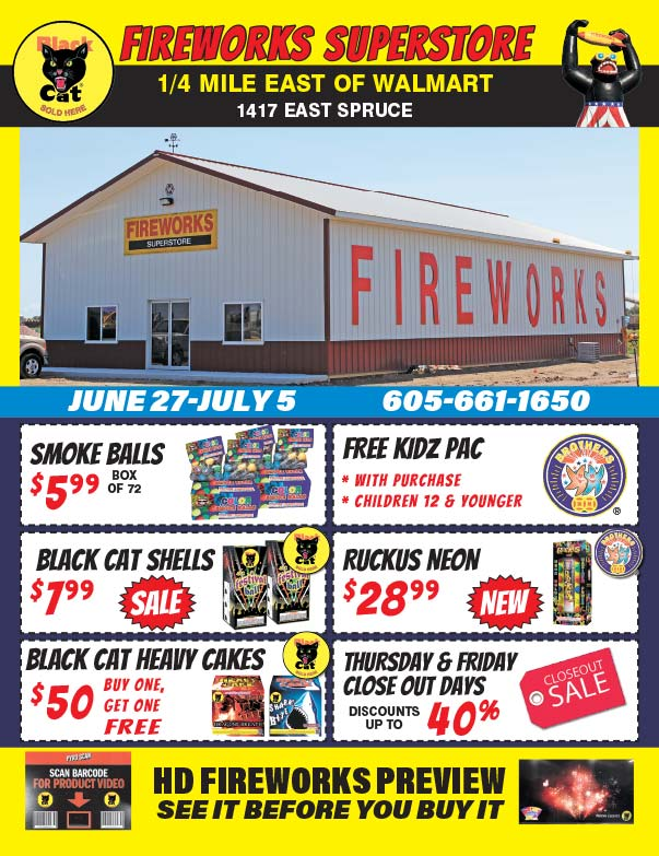 Fireworks Superstore We-Prints Plus Newspaper Insert printed by Forum Communications Printing