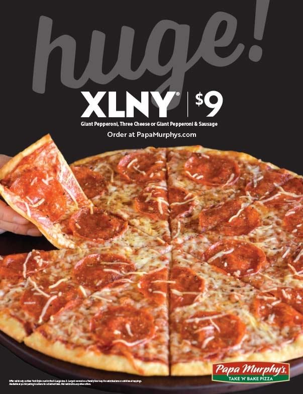 Papa Murphy's Pizza We-Prints Plus Newspaper Insert printed by Forum Communications Printing