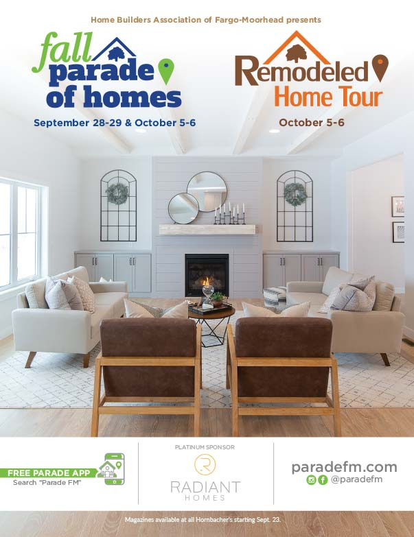 Fargo Fall Parade of Homes We-Prints Plus Newspaper Insert printed by Forum Communications Printing