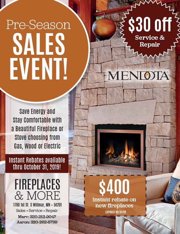 Fireplaces and More We-Prints Plus Newspaper Insert printed by Forum Communications Printing