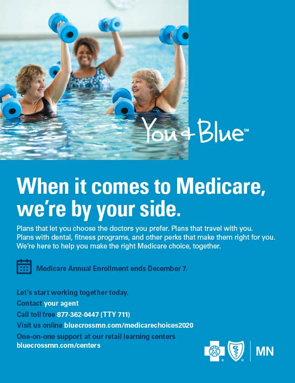 Blue Cross Blue Shield of MN We-Prints Plus Newspaper Insert printed by Forum Communications Printing