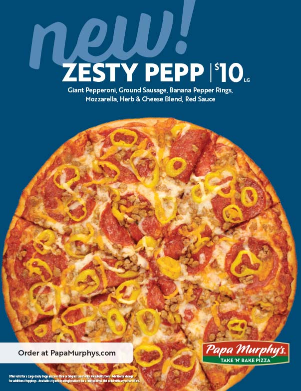 Papa Murphy's We-Prints Plus Newspaper Insert printed by Forum Communications Printing
