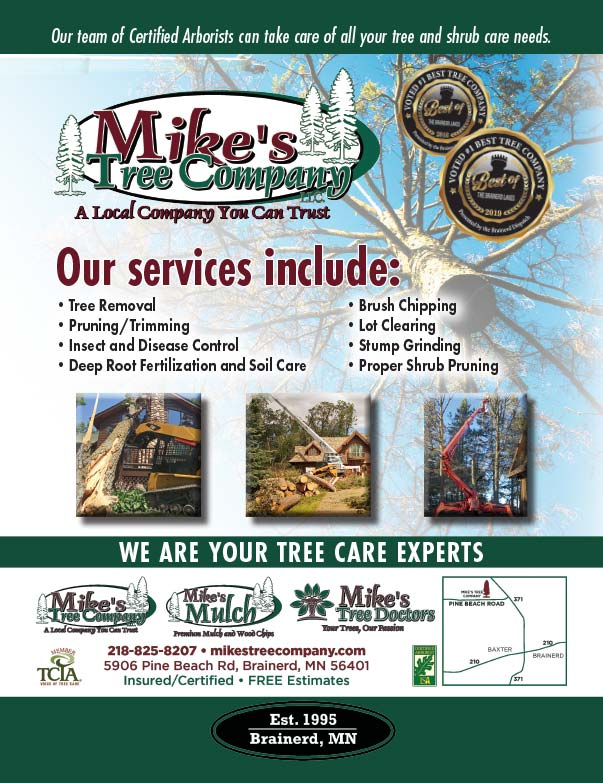 Mike's Tree Company We-Prints Plus Newspaper Insert