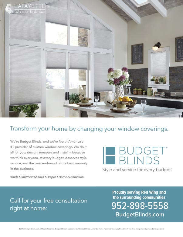 Budget Blinds We-Prints Plus Newspaper Insert