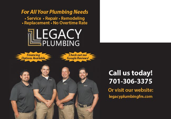 Legacy Plumbing We-Prints Plus Newspaper Insert