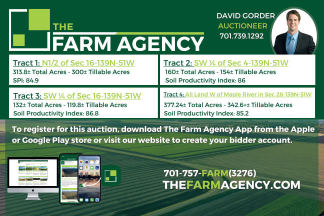 The Farm Agency Any Door Select mailer
