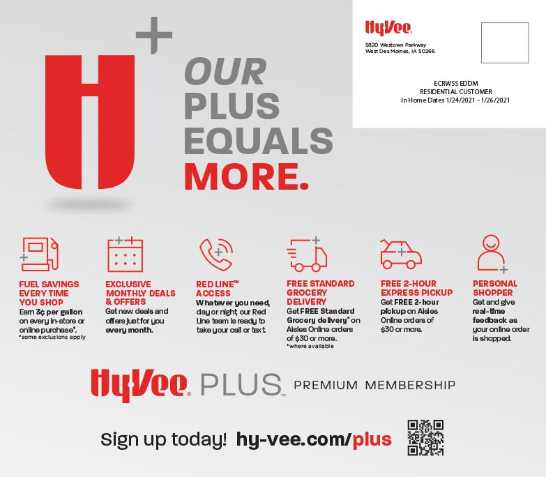 HyVee We-Prints Plus Newspaper Insert