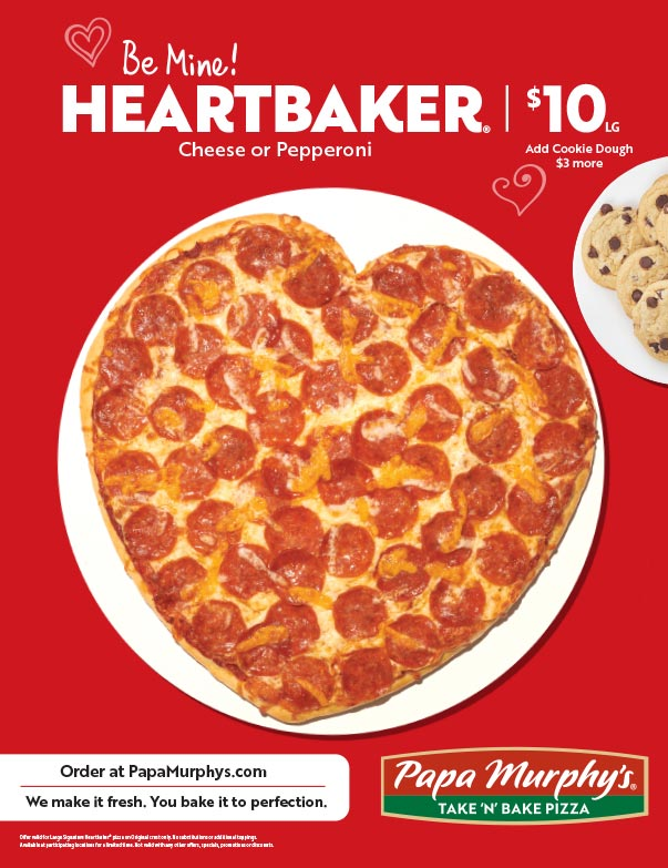 Papa Murphy's Pizza We-Prints Plus Newspaper Insert