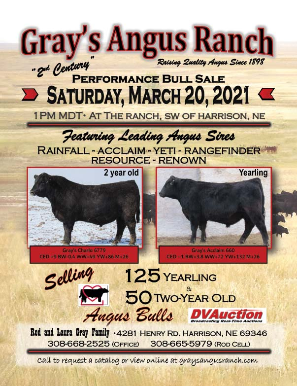 Gary's Angus Ranch We-Prints Plus Newspaper Insert