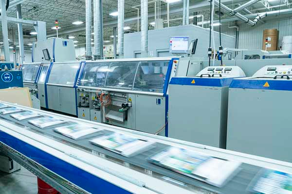 perfect bound, perfect binding, perfect bindery, binding in Fargo, Forum Printing, Fargo printing plant, commercial printer