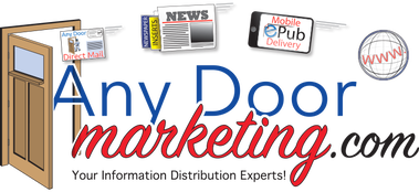 Any Door Marketing, direct mail, EDDM, saturated mail, targeted mail