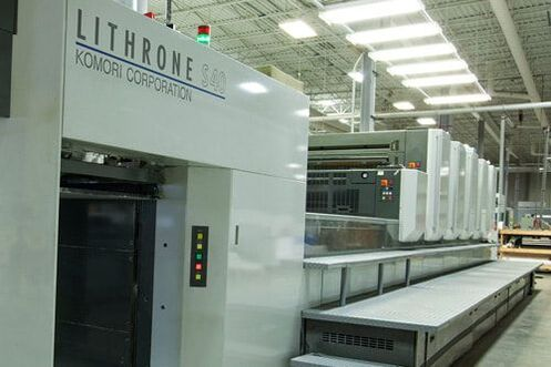commercial printing, sheetfed press, sheetfed, Forum Printing, commercial printing, Fargo printing plant,  printing press