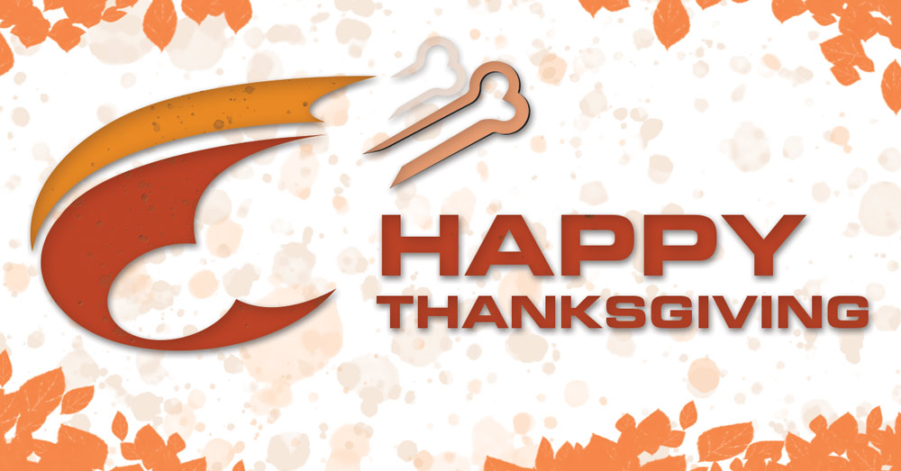 Forum Communications Printing, happy Thanksgiving, FCP holiday